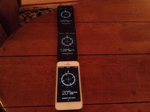 Apple iPhone 5s has issues with motion sensors calibration that affect gaming