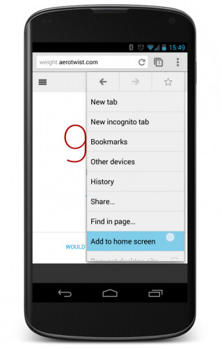 Cross-platform web apps arrive to your Android homescreen with new Chrome beta 31