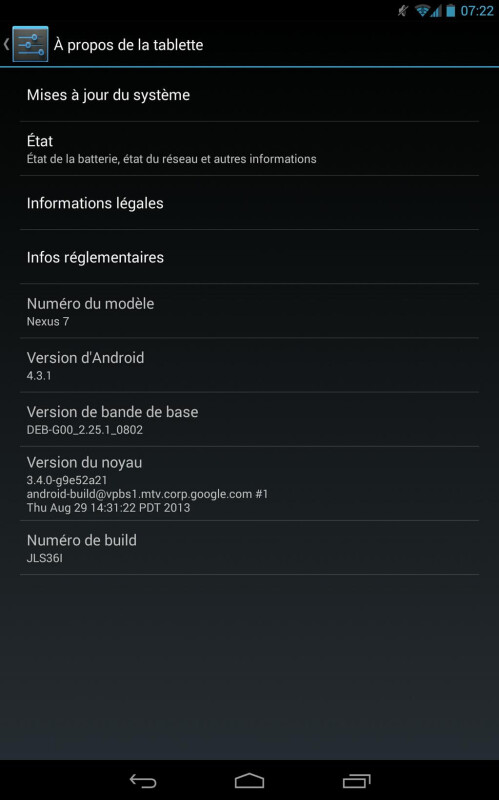 Android 4.3.1 update surprises Nexus 7 2013 owners, rolling out now