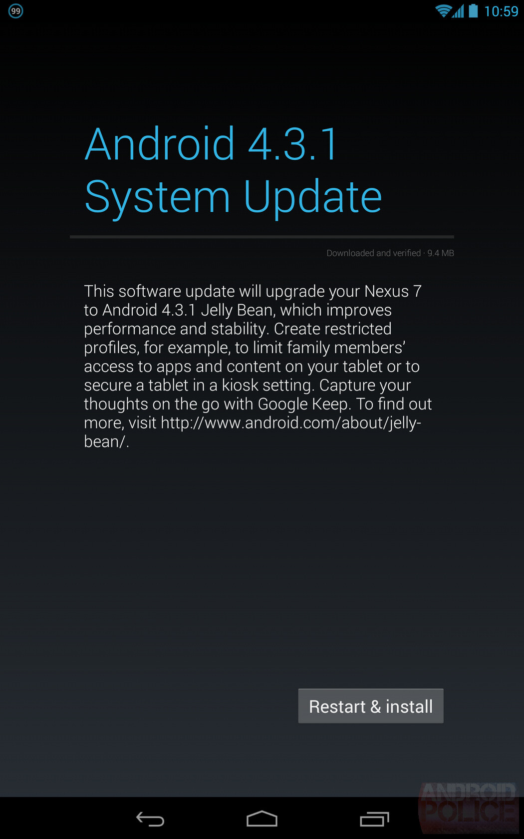 Android 4.3.1 update surprises Nexus 7 2013 owners ...