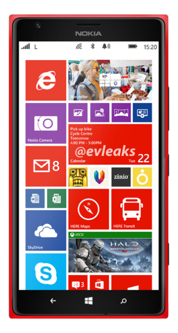 Rumored Nokia Lumia 1520 for AT&T
