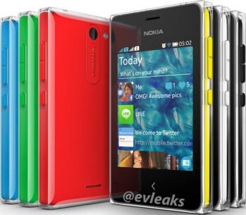Alleged Nokia Asha 502