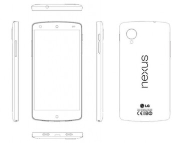 Sketch of the LG Nexus from the service manual