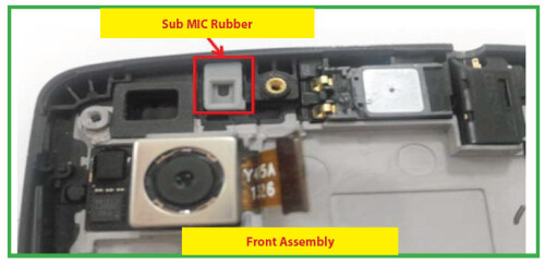 Pictures of the LG Nexus 5 from the service manual