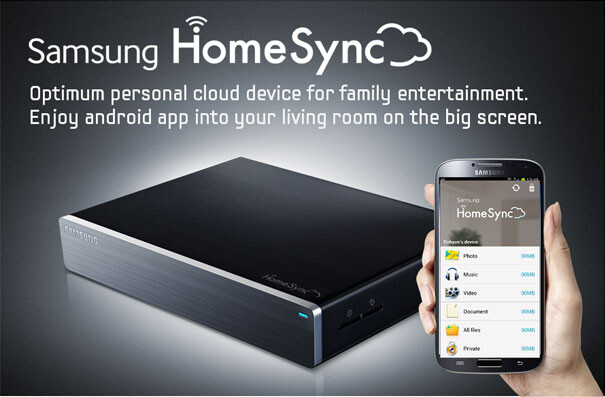The Samsung HomeSync is now available - Samsung's Android flavored HomeSync media box now on sale