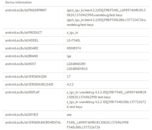 LG G Flex leaks in benchmarks