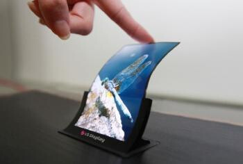 LG flexible screen prototype