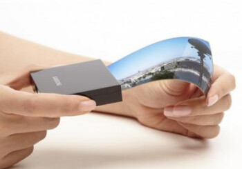 "Samsung might release first smartphone with flexible screen this week, unveils 5.7"" unbreakable bendable display"
