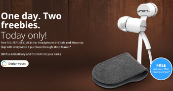 Score $60 of freebies when you order a new AT&T Motorola Moto X from the Moto Maker today