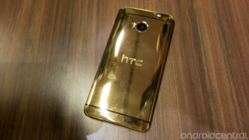 HTC one 18-carat gold edition