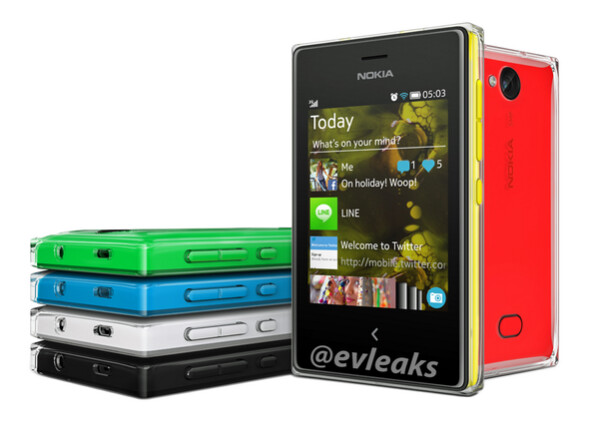 Nokia Asha 503 leaks: gorgeous design and most advanced camera in Asha series