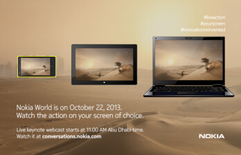 This is the latest teaser for Nokia's event in Abu Dhabi