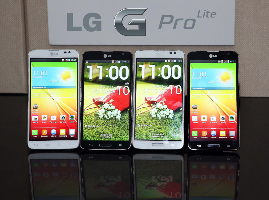 """5.5"""" LG G Pro Lite announced with stylus, dual speakers, dual SIM and modest specs"""