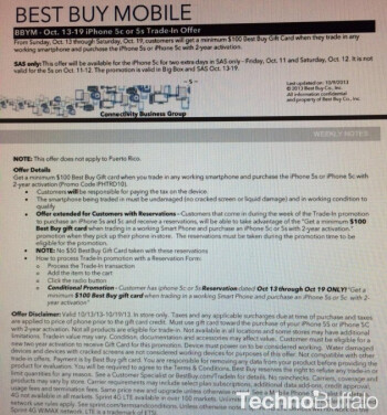 Leaked document reveals Best Buy's trade-in offer for the new Apple iPhone models