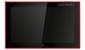 New pic shows the Nokia 2520 tablet in red