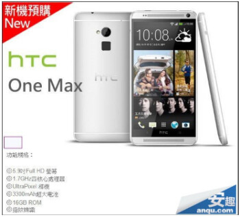 Retail posting for the HTC One Max confirms some of the specs on the device