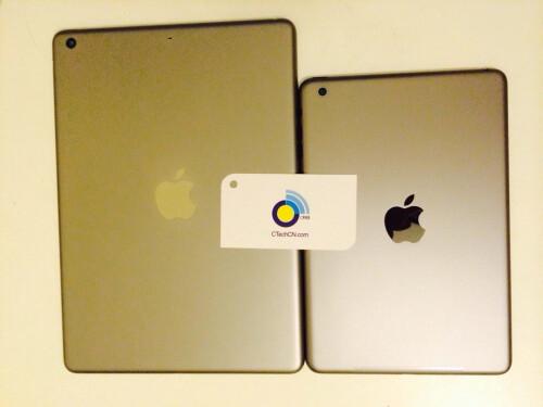 Gold iPad 5 and iPad mini 2 leak out