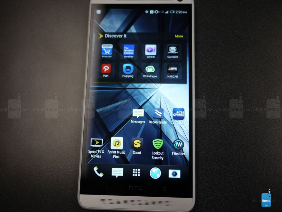 HTC One max hands-on