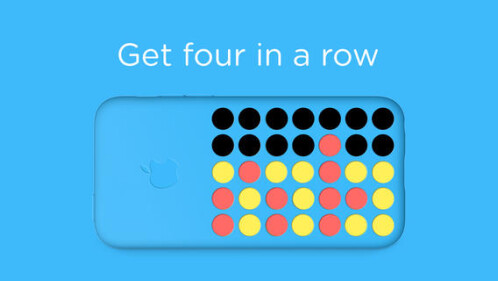 Flipcase is the first game that makes full use of Apple's new iPhone 5c dotted case