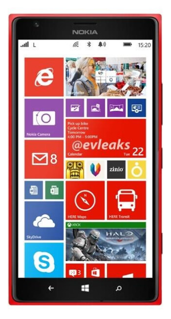 Three column Live Tile screens are limited to Windows Phone 8 models sporting an FHD display