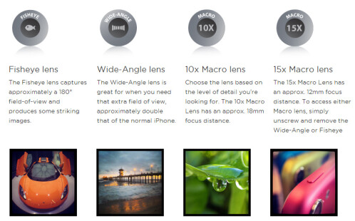 Olloclip releases new 4-in-1 lens package: brings with fisheye, wide-angle and two macro lenses to iPhones