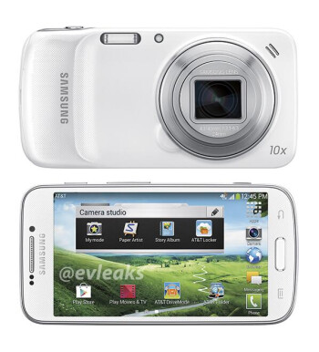 AT&T bound Samsung Galaxy S4 Zoom image leaks