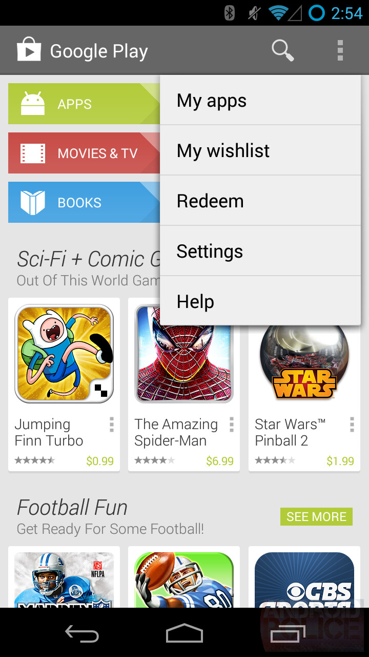 screenshots show off changes to google play store in. Black Bedroom Furniture Sets. Home Design Ideas