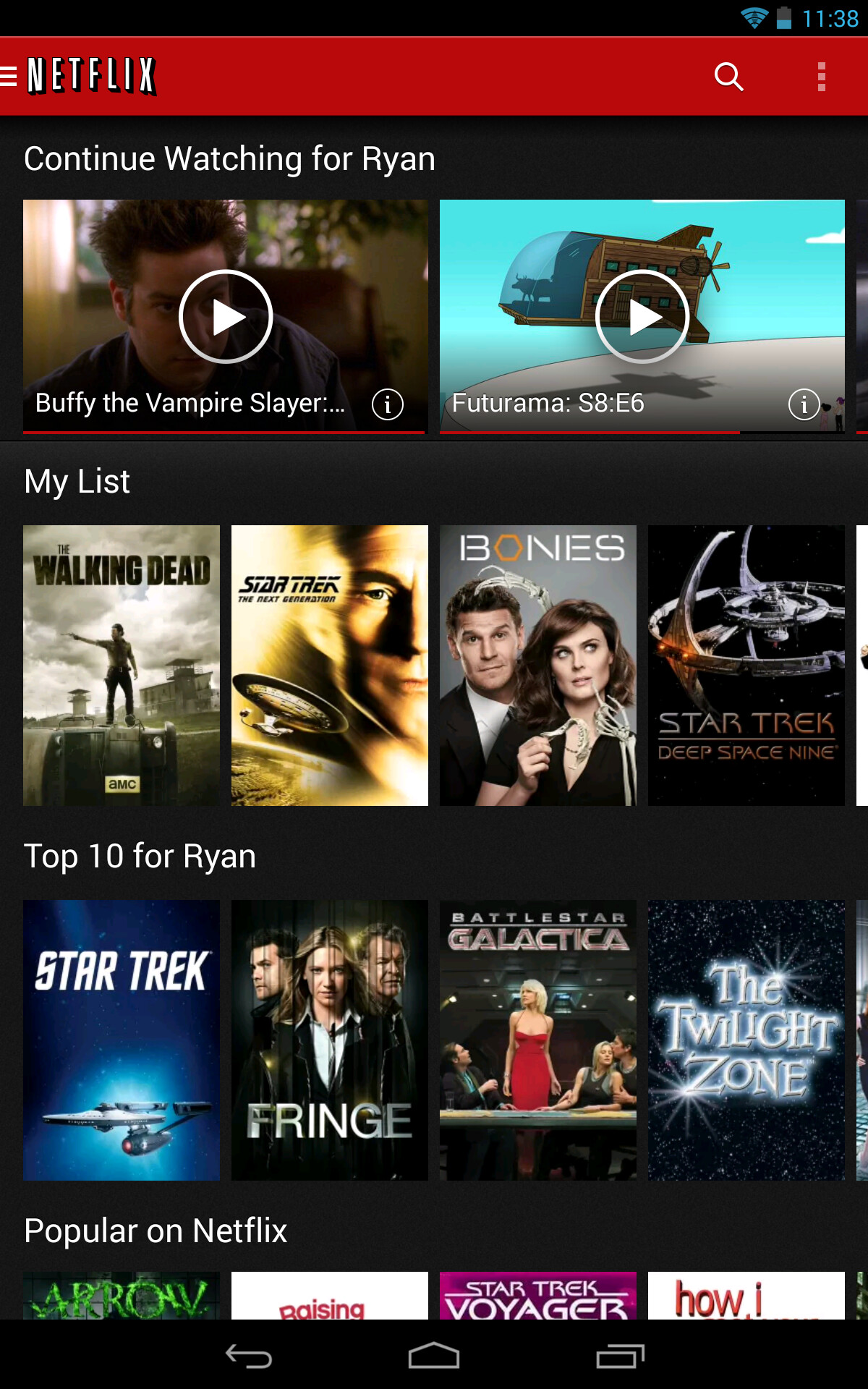 Netflix for Android gets update to speed up navigation