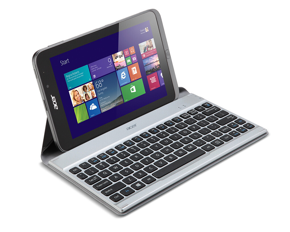 Acer takes wraps off Iconia W4 8-inch tablet: Windows 8.1 ...