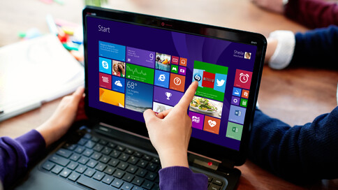 You can update to Windows 8.1 now