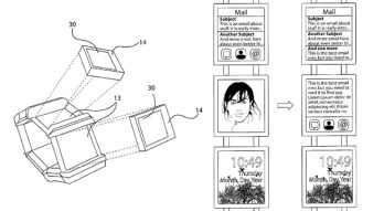 Nokia patents its own smart watch, or is it a bracelet?