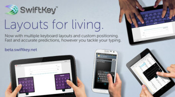 SwiftKey 4.3 to offer three layout modes for phones, tablets and phablets, unify them in one app
