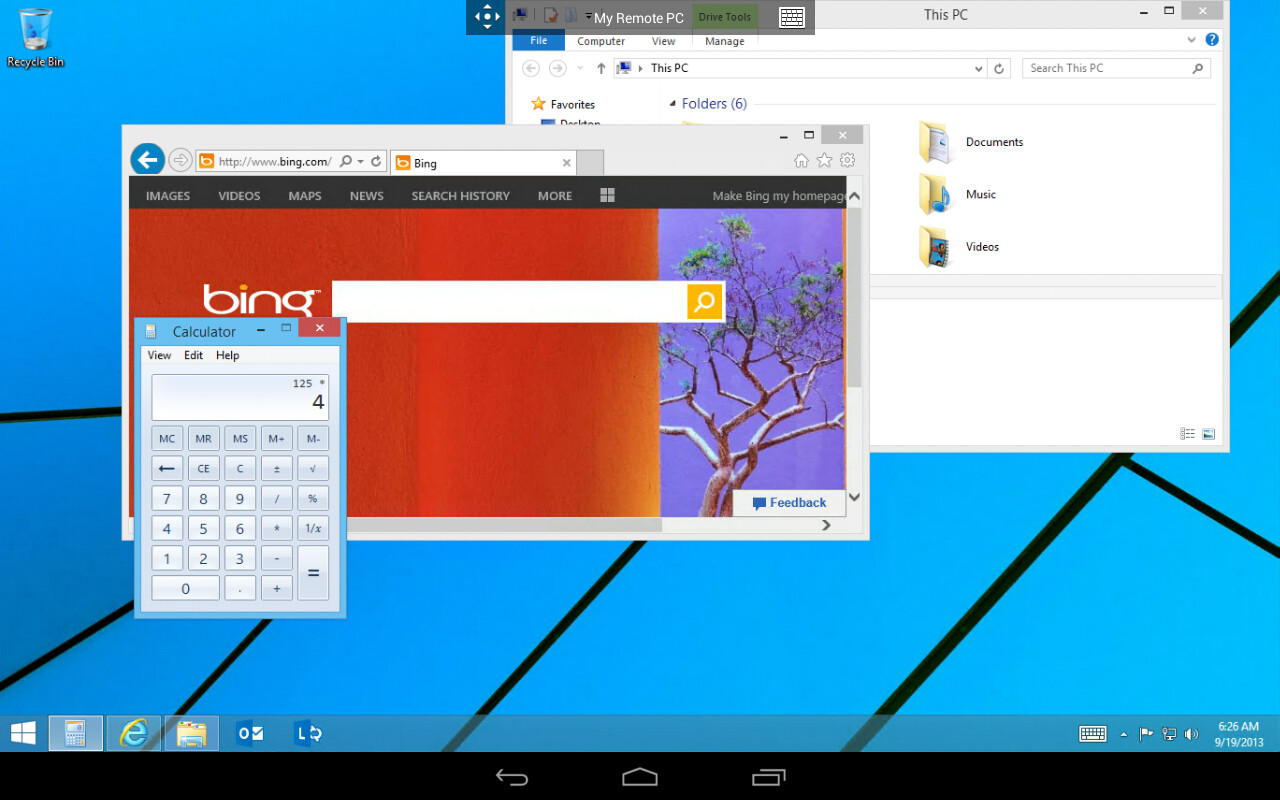 Iphone Android Desktop: Microsoft Releases Official Remote Desktop App For Android