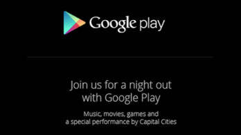 The Google Play event next Thursday has nothing to do with the Google Nexus 5