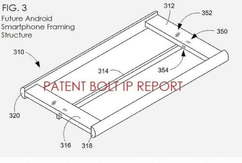 Google patent shows the future of one-handed smartphone use