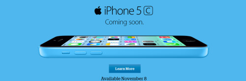 The new Apple iPhone 5s and Apple iPhone 5c will be available from U.S. Cellular starting November 8th