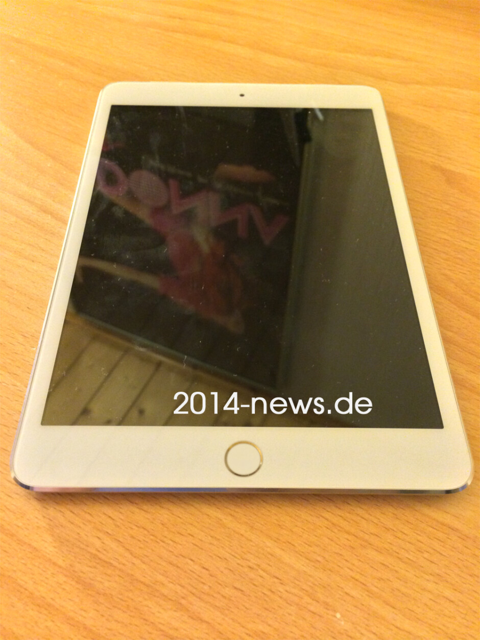 New Apple iPad mini 2 image puts Touch ID back on the table (again)