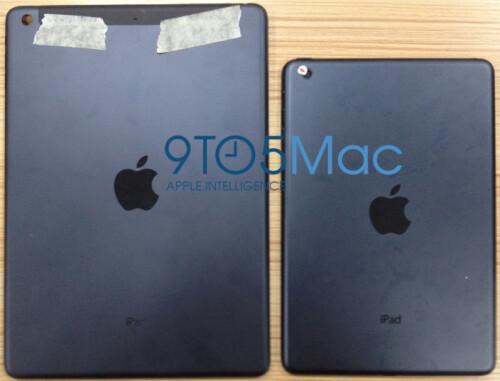 iPad 5 (left) and the iPad mini 2 (right)