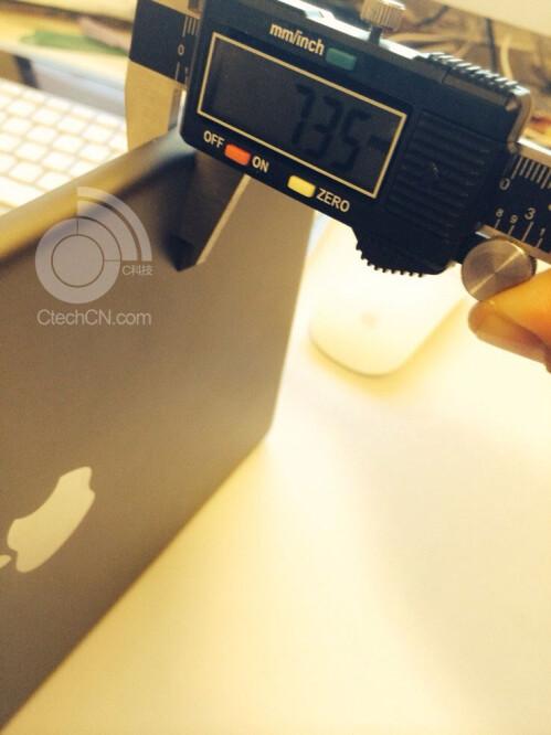 iPad 5 thickness