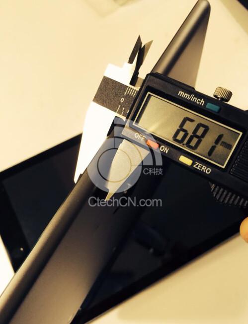 iPad mini 2 thickness