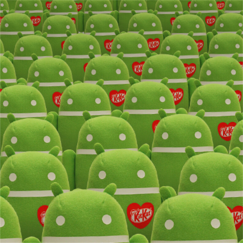 New Android KitKat count tease lets you win... something