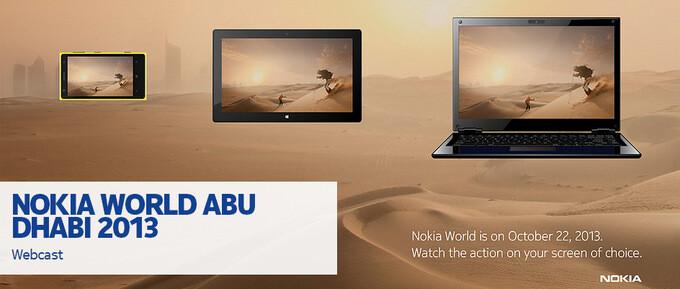 Watch the Nokia Abu Dhabi keynote live and meet the new Lumias