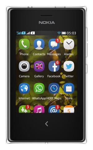 Nokia Asha 503 - Nokia Asha 503, Asha 502, Asha 500 are official with crystal-clear design, smarter camera