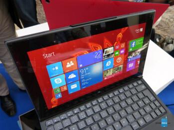 Nokia Lumia 2520 hands-on