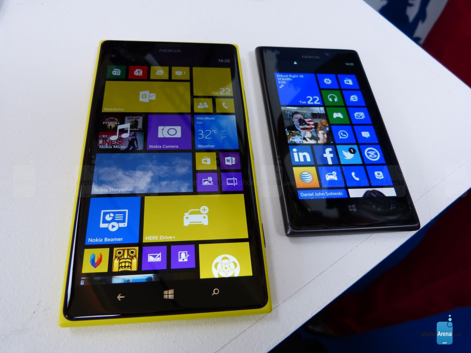 Nokia Lumia 1520 Hands On Phonearena Reviews