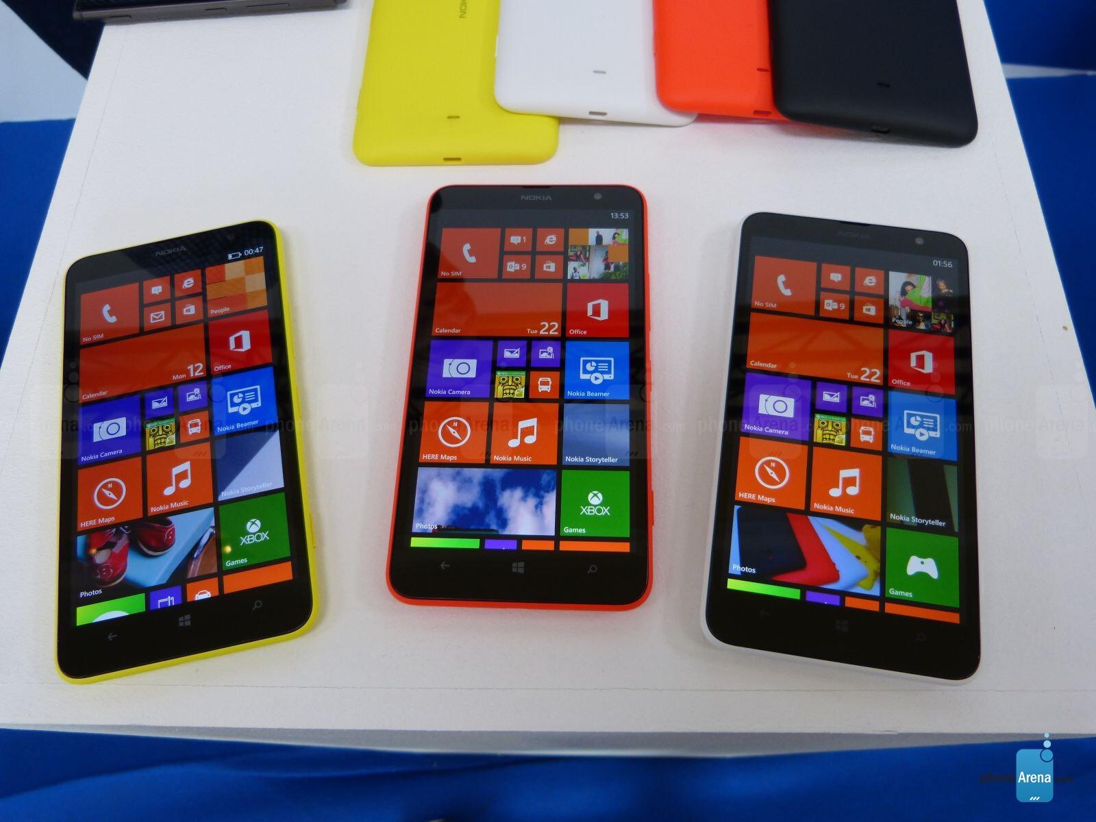 Nokia Lumia 1320 hands-on