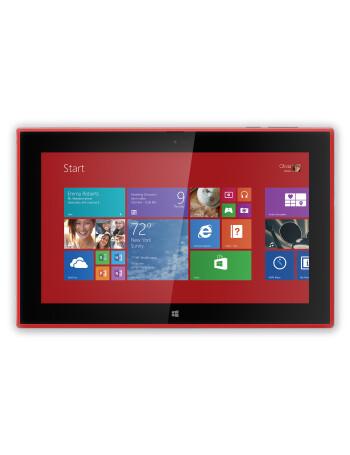 Nokia Lumia 2520 runs Windows RT 8.1