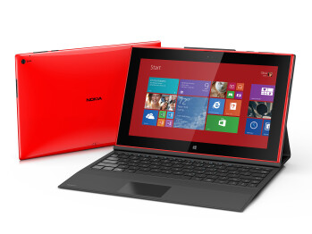 The Nokia Lumia 2520 lasts through 11 hours of video playback