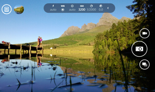 Control the settings to enhance the picture