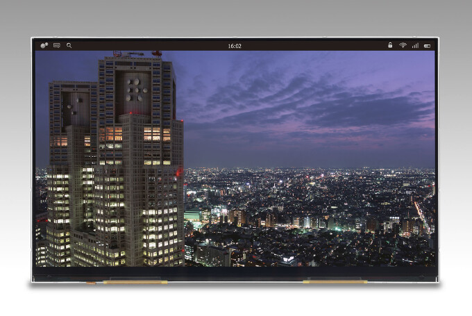 """Japan Display unveils 12"""" 4K tablet screen with 3840 x 2160 pixels of resolution"""